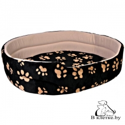 Лежанка для кошек и собак Trixie Charly-50 черная