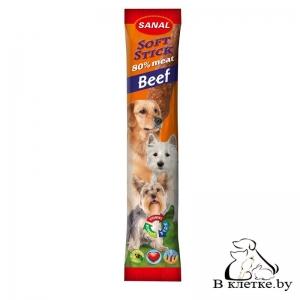 Sanal для собак «Мягкие колбаски с говядиной»