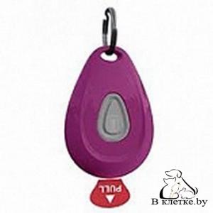 Ультразвуковой отпугиватель клещей ZeroBugs PET фиолетовый овал