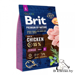 Сухой корм Brit Premium Junior S