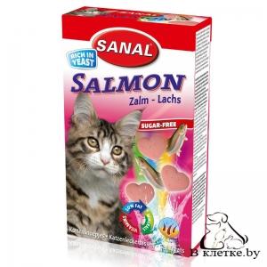 Sanal для котов «Витамины со вкусом лосося»