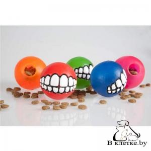 Игрушка резиновая Rogz Grinz Small