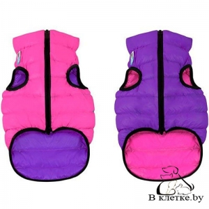 Курточка двухсторонняя AiryVest Розово-Фиолетовая