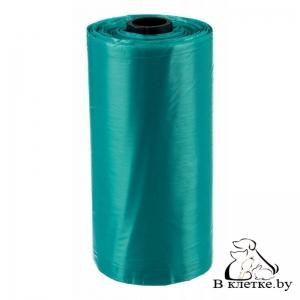 Одноразовые пакеты для уборки за собаками с ручками Trixie M 3х15