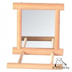 Игрушка для птиц «Зеркальце с жердочкой»