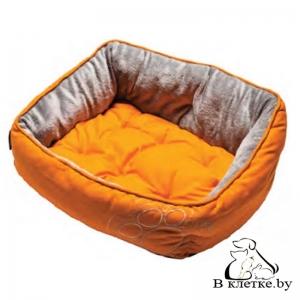 Лежанка для собак Rogz Luna Pod Orange Paw