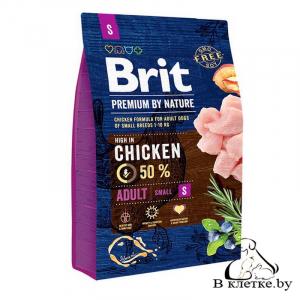 Сухой корм Brit Premium Adult S