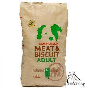 Запеченый корм Magnusson Meat & Biscuit Adult