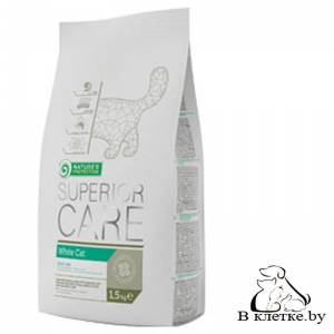Корм Nature's Protection Care White Cat