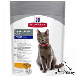 Hill's Science Plan Mature Adult 7+ Sterilised Cat Курица