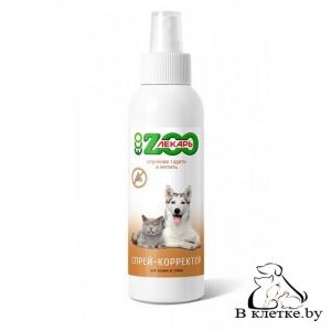 Спрей-корректор для кошек и собак ЭКО ZOOлекарь «Отучение гадить и метить»