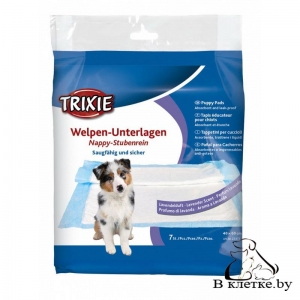 Пелёнки для приучивания животного к месту Trixie с запахом лаванды