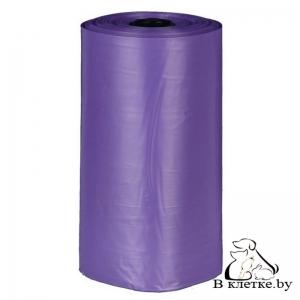 Одноразовые пакеты для уборки за собаками с ароматом лаванды Trixie M 4х20