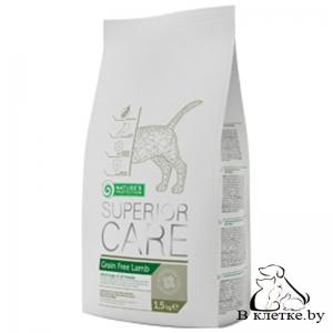 Корм для собак без зерна с ягнёнком NP Superior Care Grain Free Lamb, 17кг