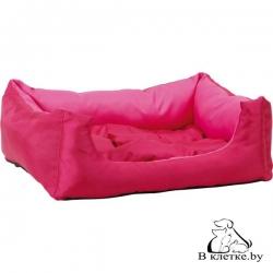 Лежак квадратный с подушкой Exclusive M бежевый