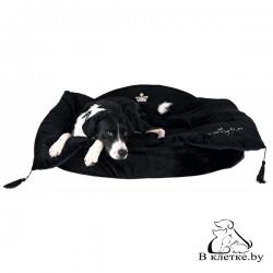 Лежанка для собак Trixie King of Dogs черная