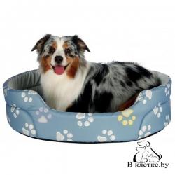 Лежанка для кошек и собак Trixie Jimmy-45 голубая