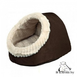 Домик Trixie Timu коричневый/бежевый