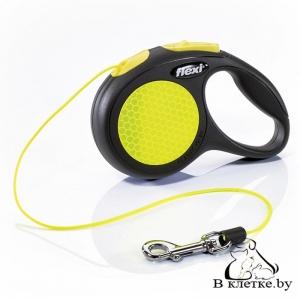 Рулетка Flexi New Neon XS Трос