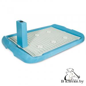 Туалет для собак со столбиком Triol