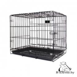 Клетка для животных с фальшдном Happy Pet 61х44х50см