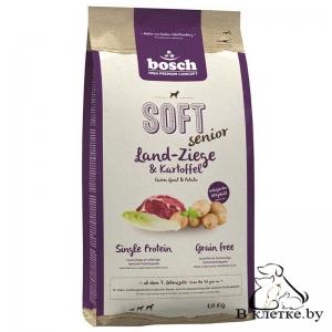 Полувлажный корм Bosch Soft Senior Коза с Картофелем