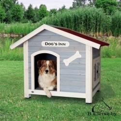 Конура для собаки с остроконечной крышей Trixie natura M 91x80x80см