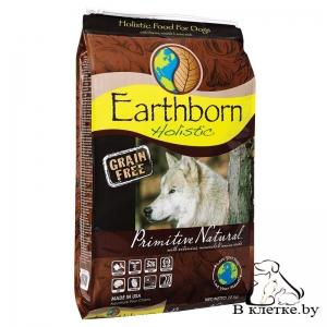 Беззерновой корм для щенков и собак Earthborn Holistic Primitive Natural, 12кг