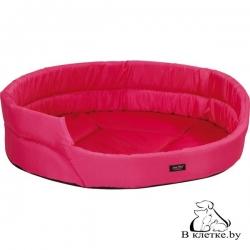 Лежак овальный для кошек и собак Exclusive XS розовый