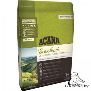 Беззерновой корм Acana Grasslands Dog