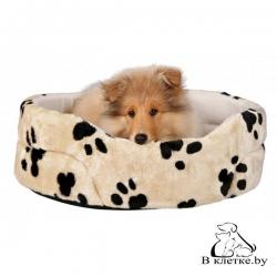 Лежанка для кошек и собак Trixie Charly-43 бежевая