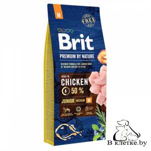 Сухой корм Brit Premium Junior M