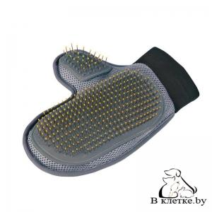 Массажная перчатка для ухода за шерстью Trixie 23392