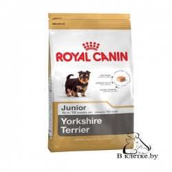 Сухой корм Royal Canin Yorkshire Terrier Junior 1,5 кг
