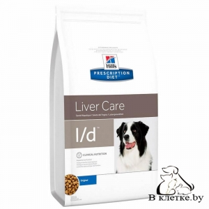 Hill's Prescription Diet l/d Liver Care
