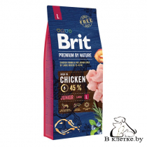 Сухой корм Brit Premium Junior L