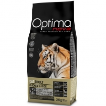 Корм Optima Nova Cat Adult Chicken & Rice