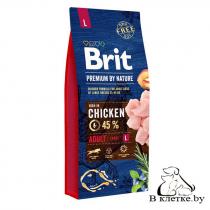 Сухой корм Brit Premium Adult L
