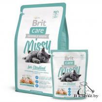 Корм для стерилизованных кошек Brit Care Cat Missy for Sterilised