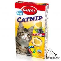 Sanal для котов «Мультивитаминное лакомство с кошачьей мятой»