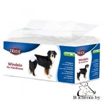 Подгузники для собак Trixie S-M