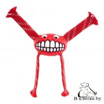 Игрушка резиновая для собак Rogz Grinz Flossy Large