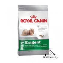 Корм для привередливых собак Royal Canin Мini Exigent