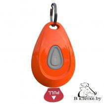 Ультразвуковой отпугиватель клещей ZeroBugs PET оранжевый овал