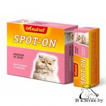 Биокапли на холку для кошек и котят Amstrel Spot-on