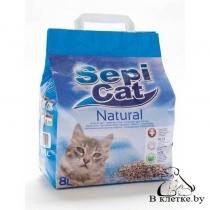 Наполнитель для кошкина туалета Sepicat Natural 8л