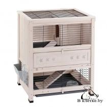 Деревянная клетка для кроликов Ferplast COTTAGE MINI