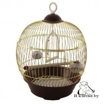 Круглая клетка для птиц Triol 23B-G-K