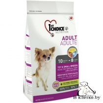 Корм 1st Choice Adult Toy & Small Breeds Healthy Skin & Coat