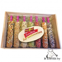 Шкатулка с зерновыми палочками для птиц Vitapol Smakers
